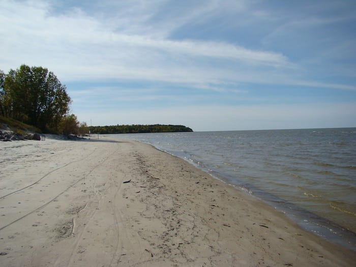 Grand Beach Lake Winnipeg