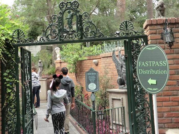 Fastpass Disneyland Los Angeles