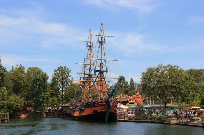 Frontierland Disneyland, Los Angeles