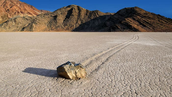 Death Valley, Racetrack Playa