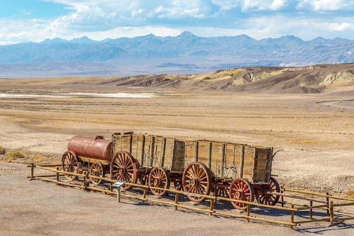 death valley, harmony borax
